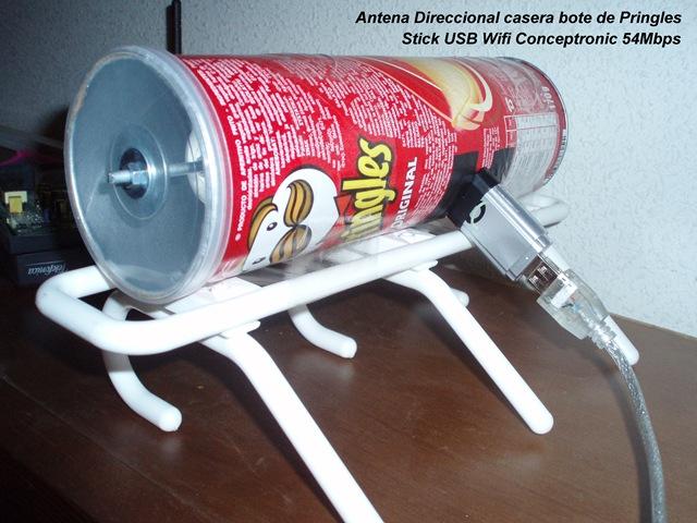 Como construir una antena wifi casera de largo alcanze